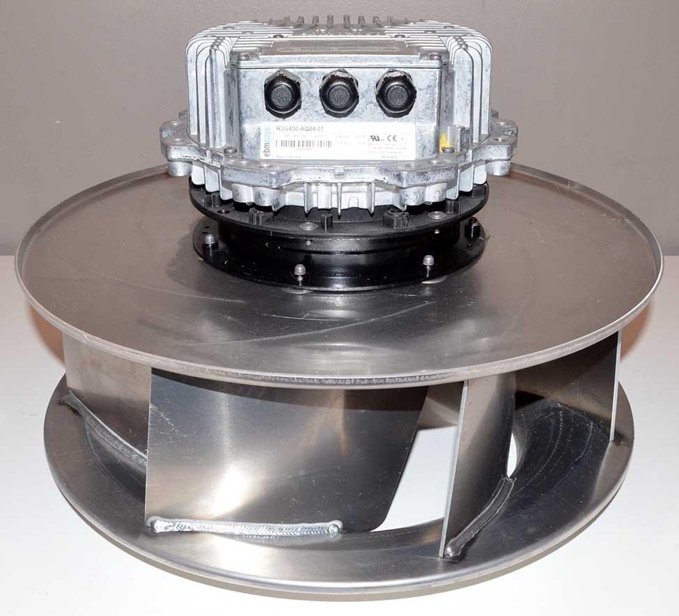 New ebm papst r3g450 aq24 01 20 centrifugal fan blower 3 for Ebm papst fan motor