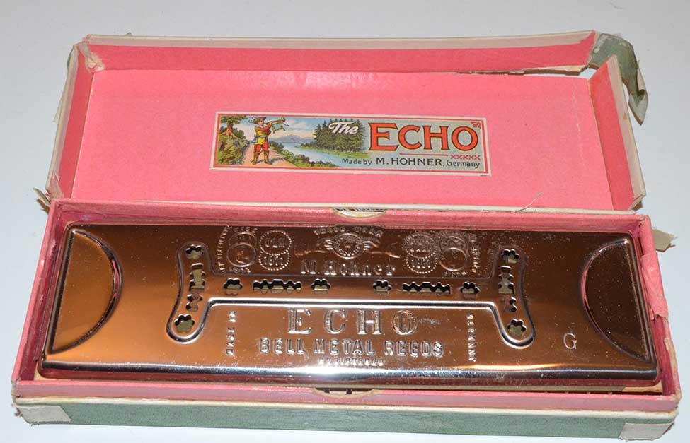 Antique Hohner Echo Harp Model 56/96 in C/G 2 Sided ...