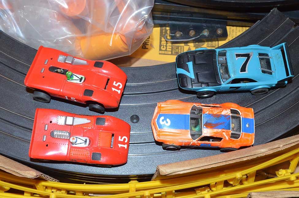 New Track For Aurora Ho Cars