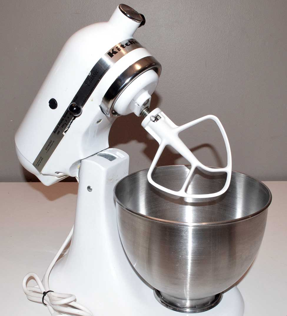 kitchenaid k45ss classic stand tilt mixer 250 watt 10 speed kitchen aid ebay. Black Bedroom Furniture Sets. Home Design Ideas