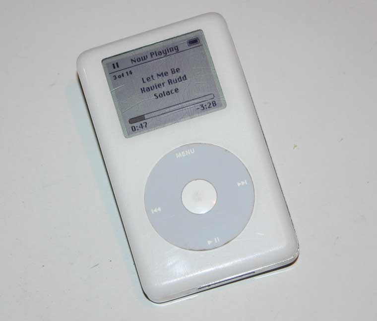 Apple iPod 40GB Digital Music Player HP MP103 4th Gen