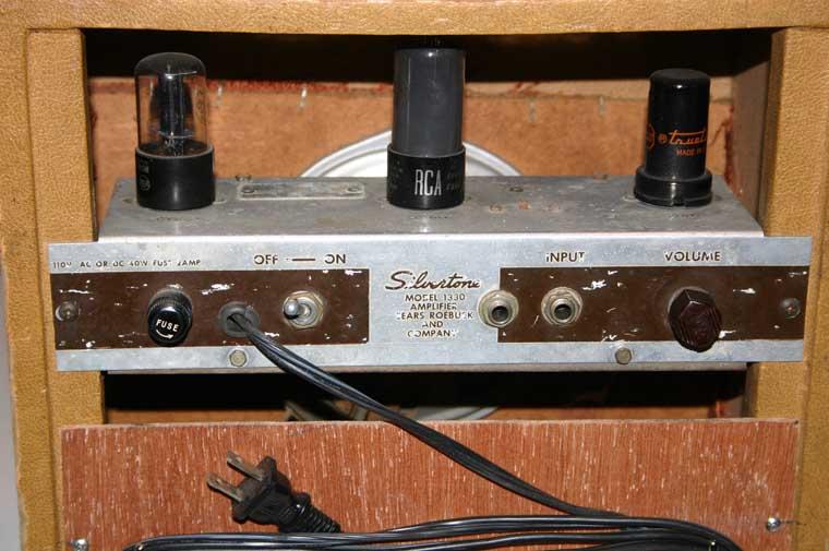 Vintage Silvertone Model 1330 Guitar Tube Amplifier Amp ...