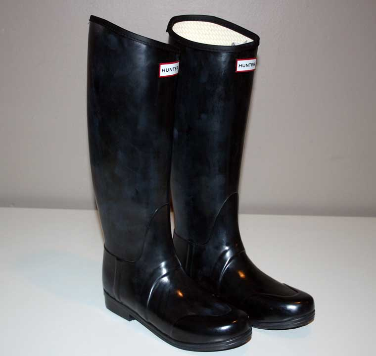 Popular Hunter Womens Original Gloss Rain Boot