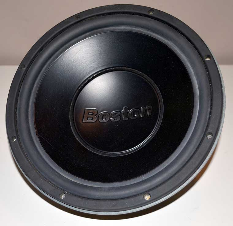 new boston acoustics proseries 12 5lf 12 car subwoofer ebay. Black Bedroom Furniture Sets. Home Design Ideas